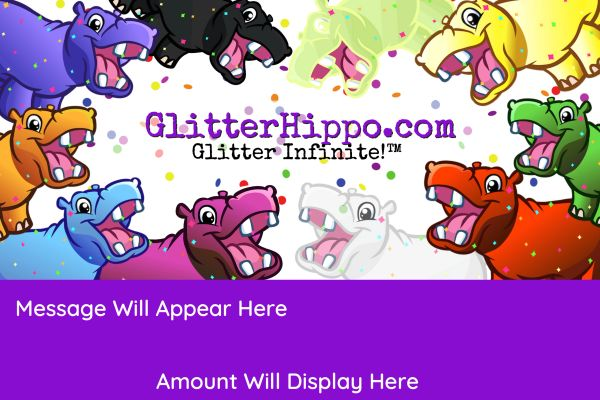 GlitterHippo.com eGift Card