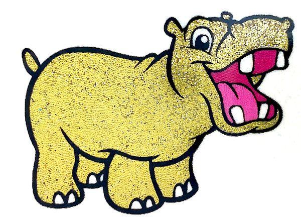 Shimmer Glitter! - Golden Seahorse
