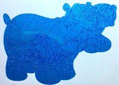 Fluorescent Glitter! - Glacier