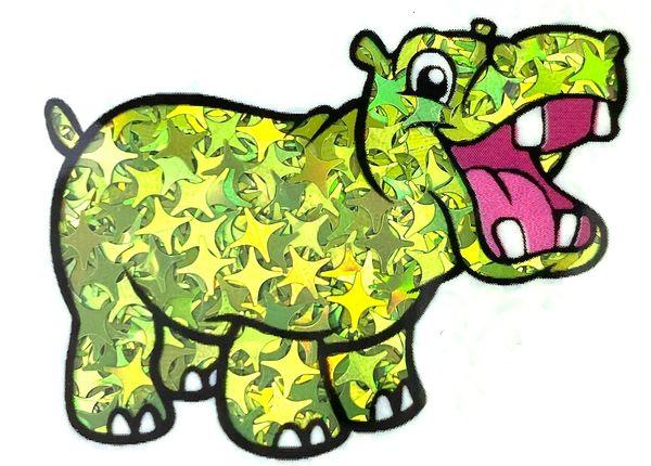 Holographic Shape Glitter! - Lime Starbursts