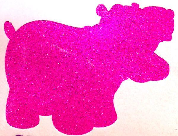 Fluorescent Glitter! - Barney