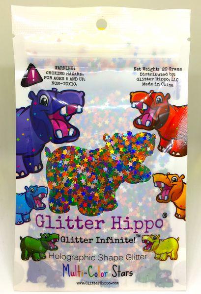Holographic Shape Glitter! - Multi Color Stars