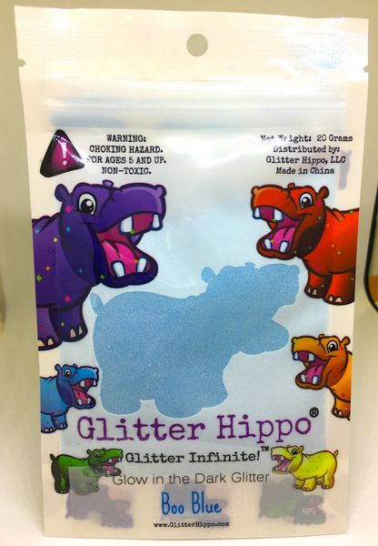Glow Glitter! - Boo Blue