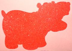 Matte Glitter! - Red
