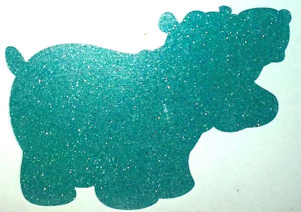 Matte Glitter! - Blue