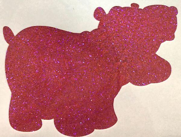 Iridescent Glitter! - Velvet Rose