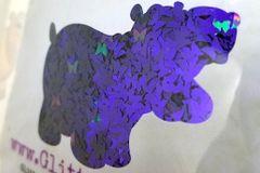 Color Shift Shape Glitter! - Evil Butterflies
