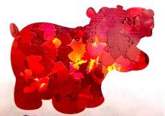 Holographic Shape Glitter! - Red Unicorns