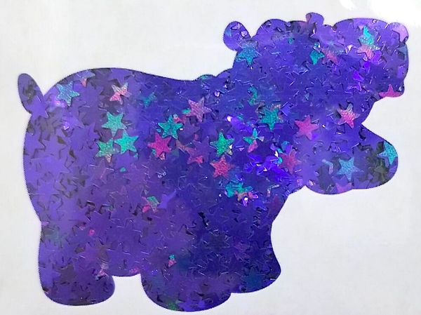 Color Shift Shape Glitter! - Dark Stars