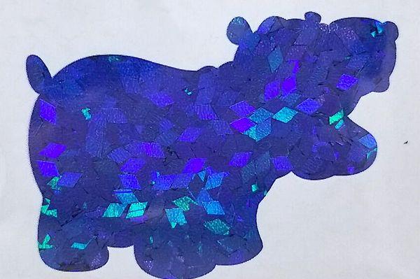 Holographic Shape Glitter! - Blue Diamonds
