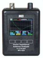 MFJ-223 COLOR GRAPHIC VNA ANTENNA ANALYZER, 1-60MHZ