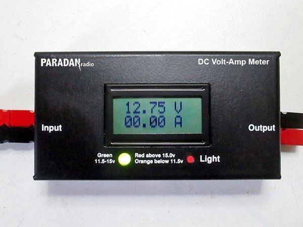 Paradan Radio DC Volt/Amp Meter