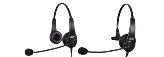 Heil HTHD Handie Talkie Dual Sided Headset