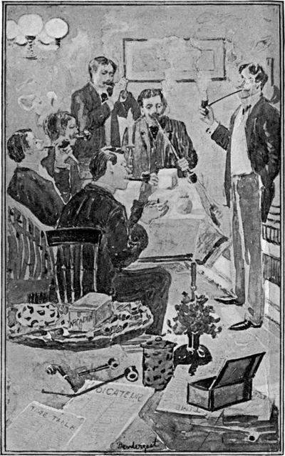 Smoking is encouraged at meetings of the Conclave of Richmond Pipe Smokers.