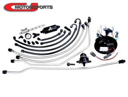 CJM S3 Fuel System, Whipple S550