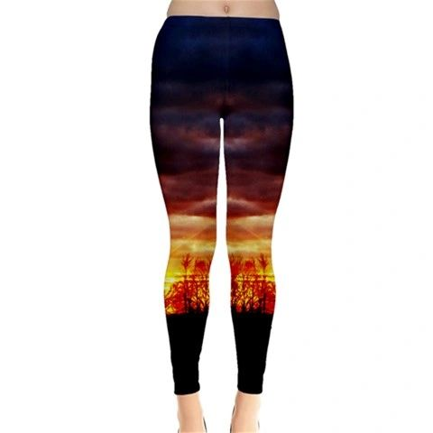 Sunset Winter leggings