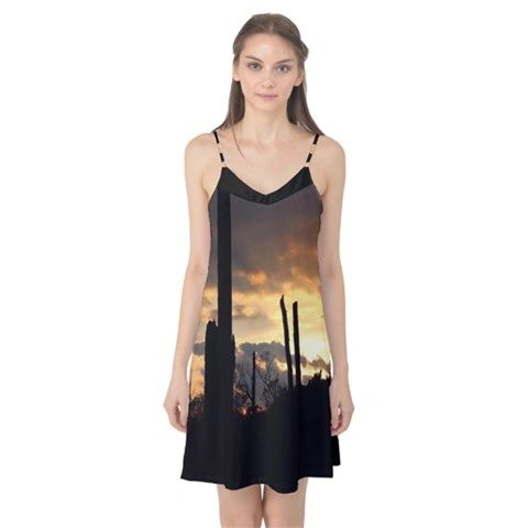 Yellow Sunset Camille Dress
