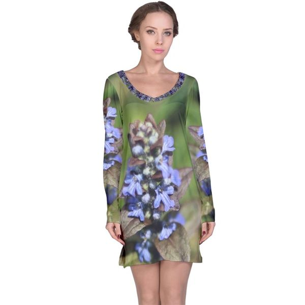 Wild Flowers Longsleeve Dress