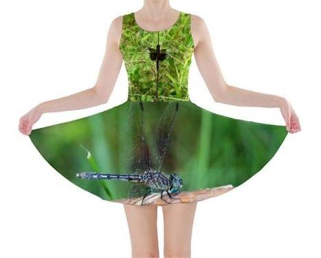Dragonfly Sleeveless Dress