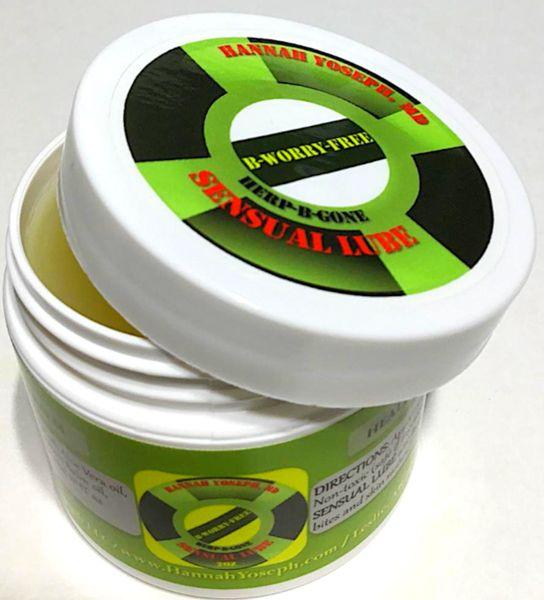 SENSUAL LUBE-2nd Line of Defense (one 2 oz jar in a discreet package)