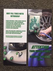 NitroCap PDI Kit (Pack of 100) For Car Dealers and Tire Stores