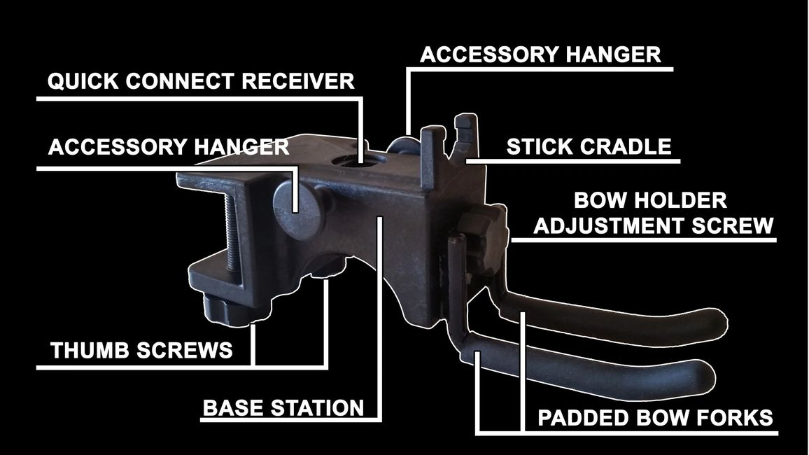 Diagram of EBI's Bow Holder
