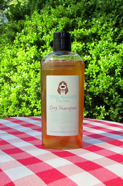Totes McGoats Tea Tree & Lavender Dog Shampoo