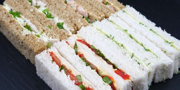 Finger sandwiches for Afternoon Tea.  Wiltshire Gloucester, Bath Bristol areas.  All occasions