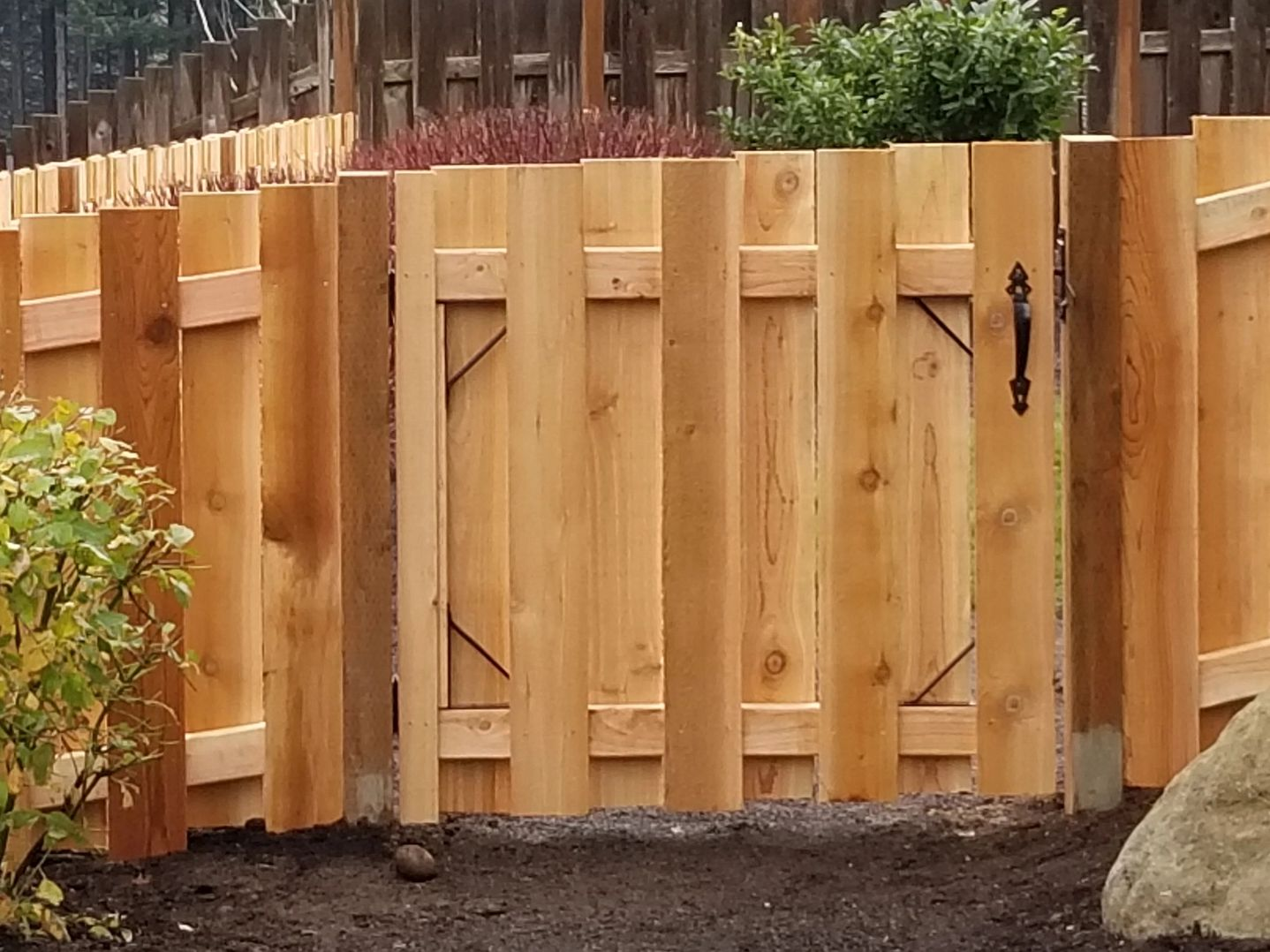 Good Neighbor Shadow Box Fence