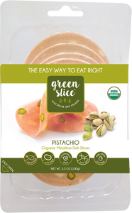 Green Slice Pistacho organic meatless deli slices