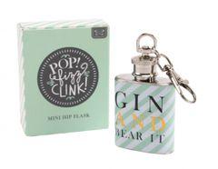 Gin and Bear it Mini Hip Flask