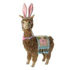 Llama with Bunny Ears