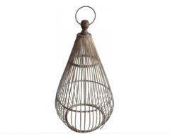 Large Hanging Bamboo Lantern