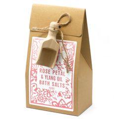 Ylang and Rose Himalayan Bath Salts