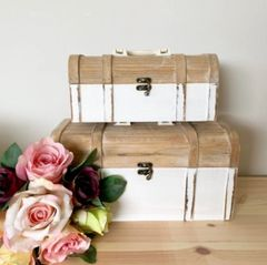 Shabby Chic Storage trunks