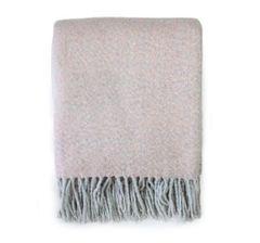 Pink Soft Tassel throw