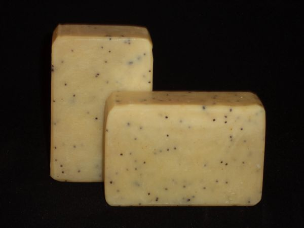 Lemongrass Poppyseed Bar Soap
