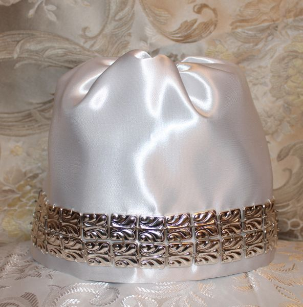 hoibel kippa with square silver