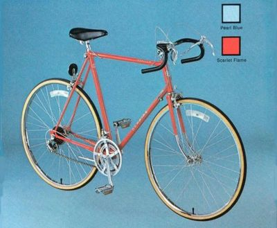 1980 Red Schwinn bicycle as described by witnesses.