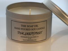 Pink Grapefruit Soy Candle 8 oz
