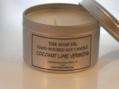 Coconut Lime Verbena Soy Candle 8 oz