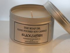 Black Cherry Soy Candle 8 oz
