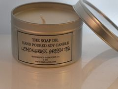 Lemongrass Green Tea Soy Candle 8 oz