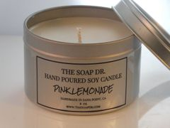 Pink Lemonade Soy Candle 8 oz