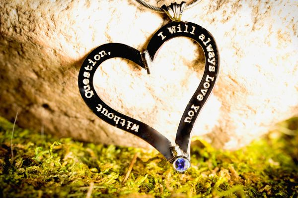 "Stylish ""Unquestionable Love®"" Necklace, Jewelry For Women Unfold True Love®"