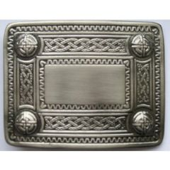 Celtic Belt Buckle - Antique Finish