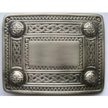 Celtic Belt Buckle - Antique Finish