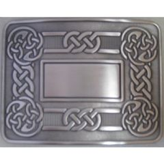 Antique Silver Celtic Swirl Buckle