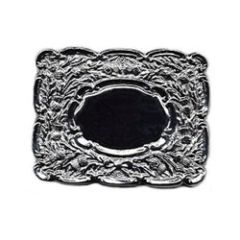 Oval Military Buckle