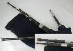 """McCallum Bellows-Blown Smallpipes in """"A"""" with Drone Switch"""